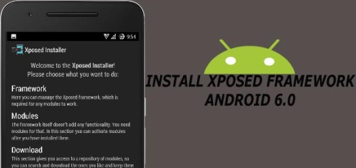 How to install xposed framework on android 6.0 marshmallow