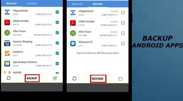 How to Back Up Your Android Apps