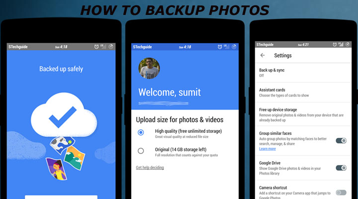 How to Back Up Your photos