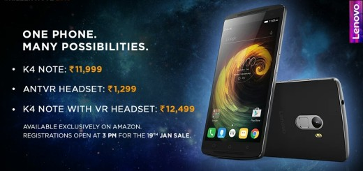 k4 Note launched at price 11,999