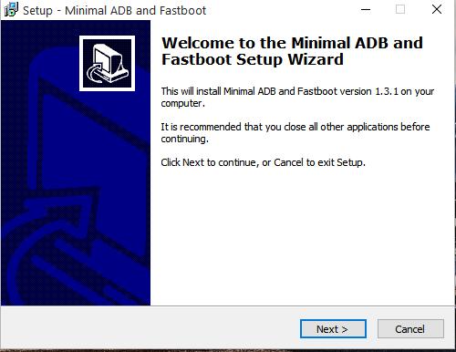 adb and fastboot by minimal adb