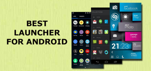 Best Launcher for Android 2016