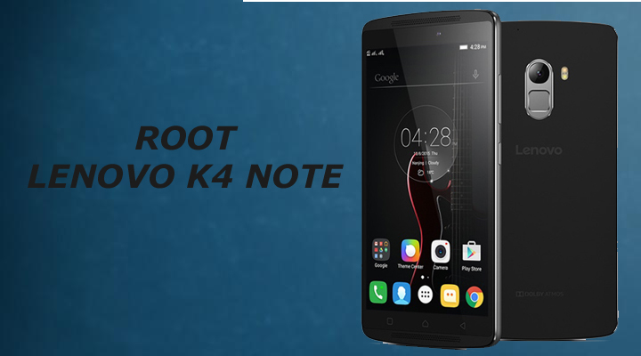 Root lenovo k4 note