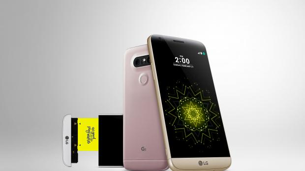 LG G5 with Modules