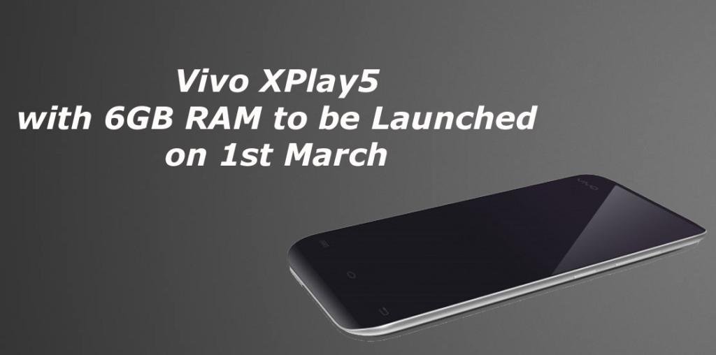 vivo xplay with 6GB ram