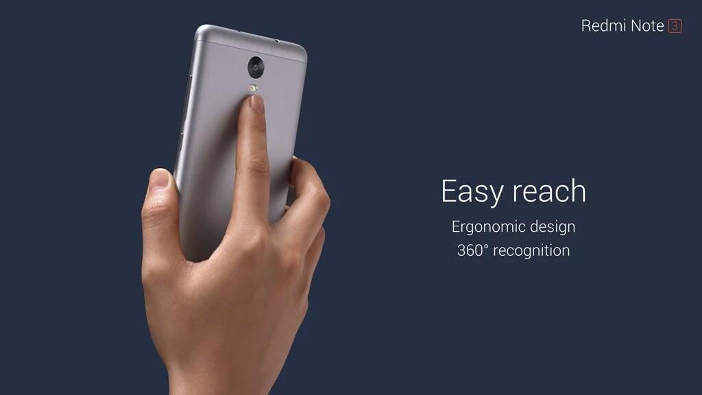 Redmi Note 3 fingerprint