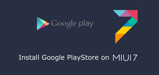 Install Google Play Store On Xiaomi MIUI 7
