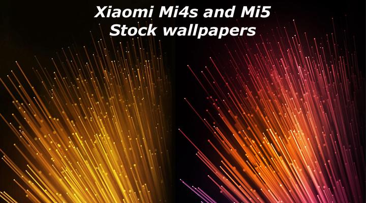 Xiaomi Wallpaper: Download Xiaomi Mi 4S And Mi 5 Stock Wallpapers