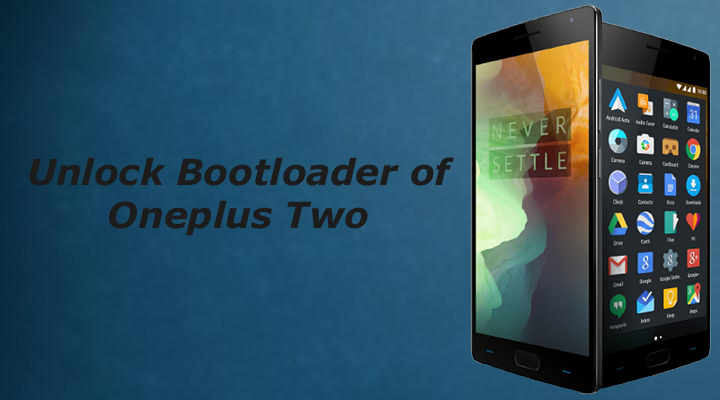 Unlock bootloader of oneplus two