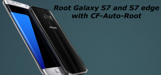 Root Samsung Galaxy S7 and S7 edge with CF-Auto-Root