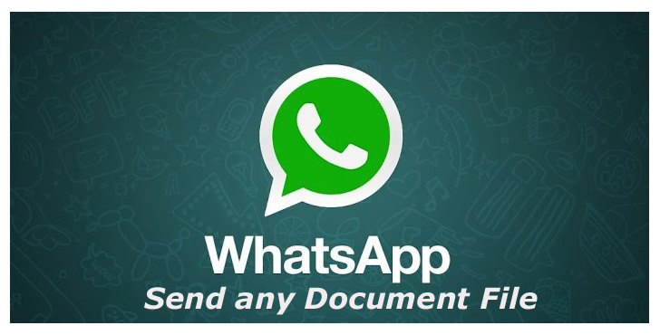 Send any Document File with WhatsApp
