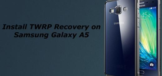 Install TWRP on Samsung Galaxy A8