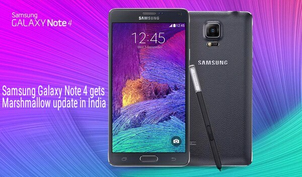 Update Samsung Galaxy Note 4 to Marshmallow