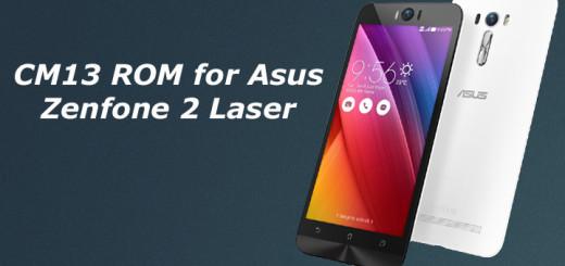 CM13 ROM for Asus Zenfone 2 Laser