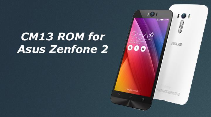 CM13 ROM for Asus Zenfone 2