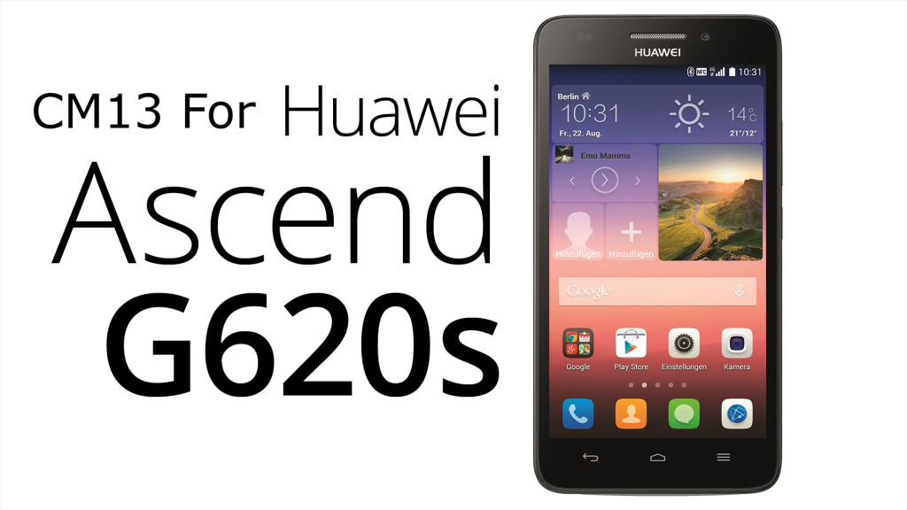 CM13 ROM for Huawei Ascend G620S