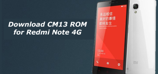 Download CM13 ROM for Redmi Note 4G