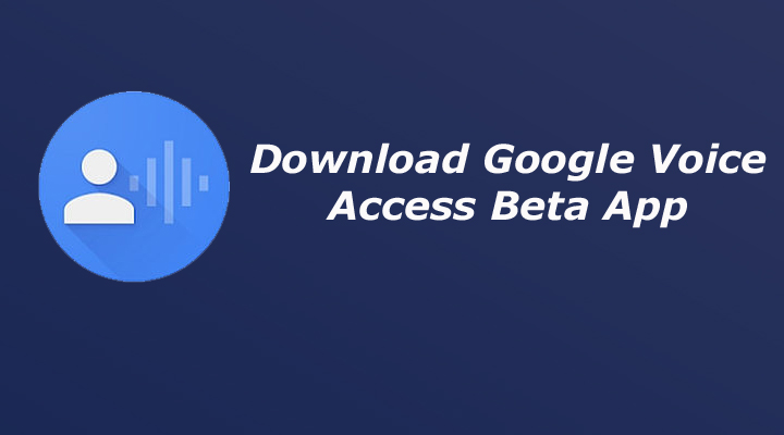 Download Google Voice Access App