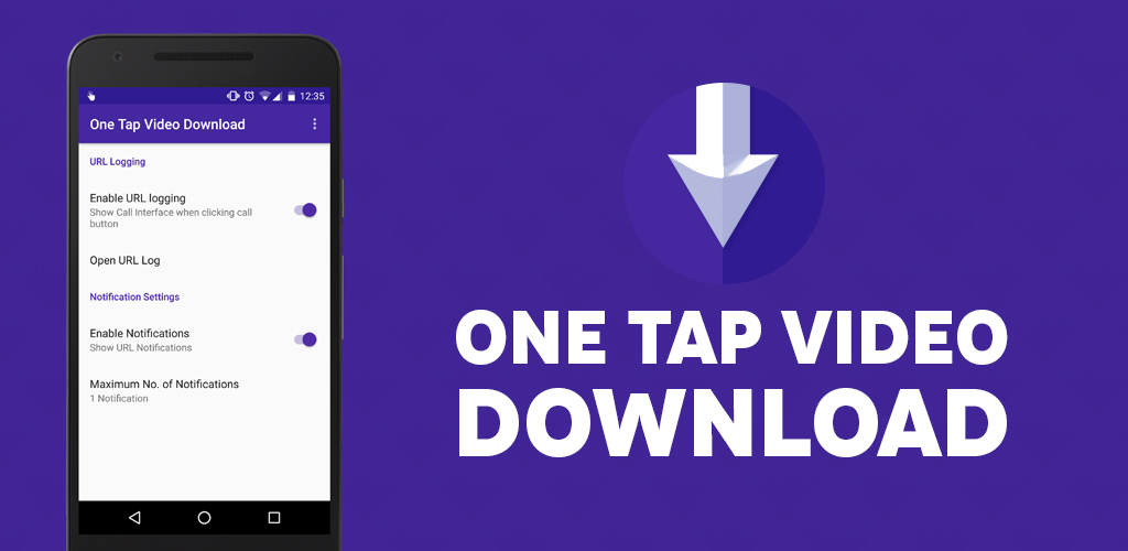 Download One tap video download