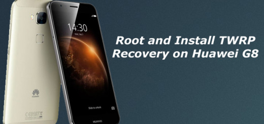 Root and Install TWRP Recovery on Huawei G8