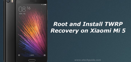 Root and Install TWRP Recovery on Xiaomi Mi 5