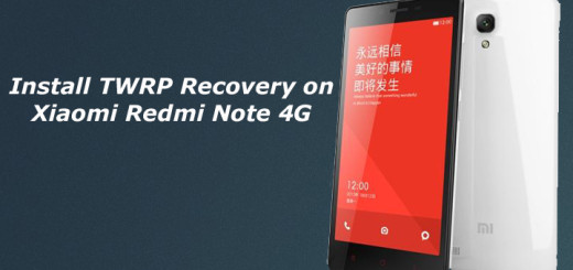 Root and Install TWRP Recovery on Xiaomi Redmi Note 4G
