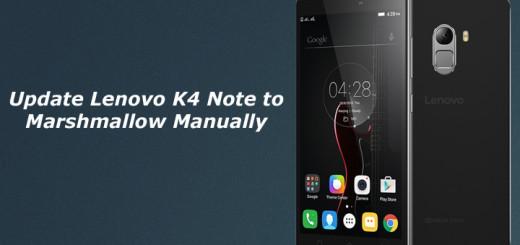 update Lenovo K4 Note to Marshmallow