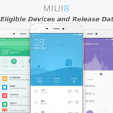 MIUI 8 Eligible Devices and Release Date
