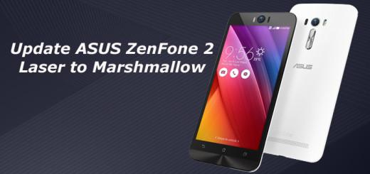 Update ASUS ZenFone 2 Laser to Marshmallow