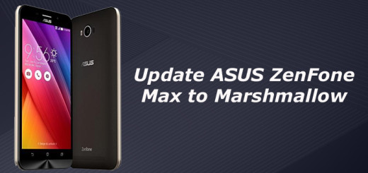Update ASUS ZenFone Max to Marshmallow