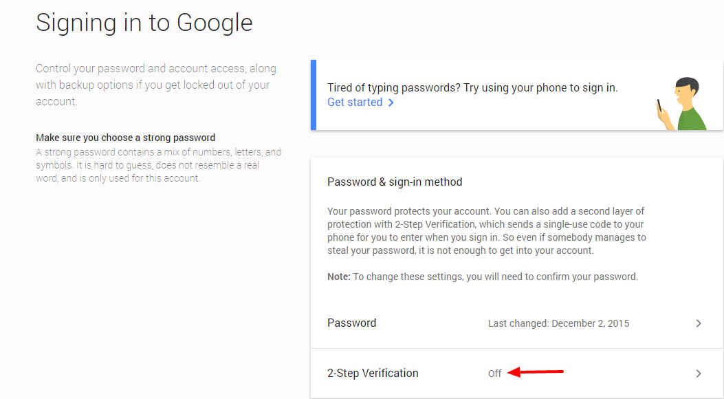 How to Enable Google Prompt To Make 2-Step Verification