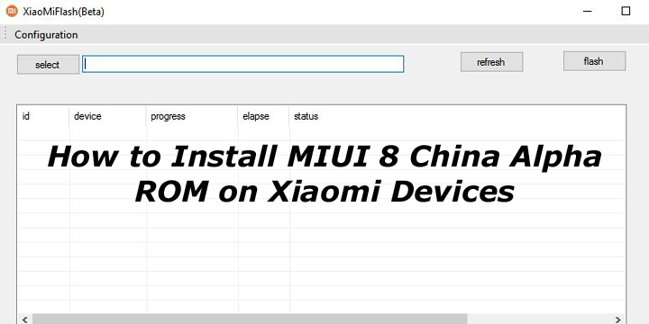 How to Install MIUI 8 China Alpha ROM on Xiaomi Devices
