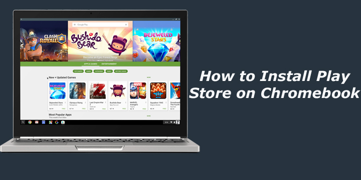 how to download google play store on chromebook