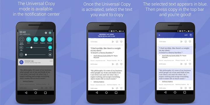 download Universal Copy app