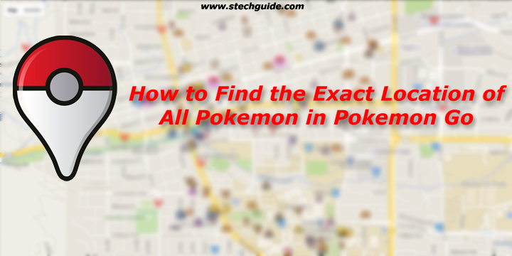 How to Find the Exact Location of all Pokemon in Pokemon Go