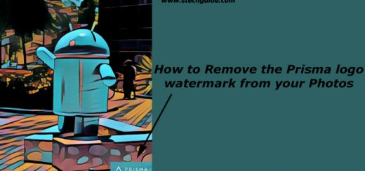 How to Remove the Prisma logo watermark from your Photos