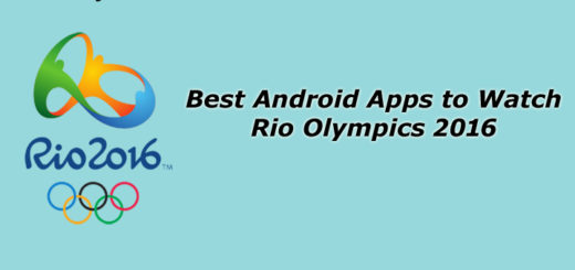 Best Android Apps to Watch Rio Olympics 2016