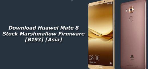 Download Huawei Mate 8 Stock Marshmallow Firmware
