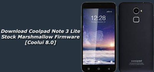Download Coolpad Note 3 Lite Stock Marshmallow Firmware