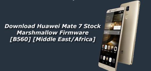 Download Huawei Mate 7 Stock Marshmallow Firmware