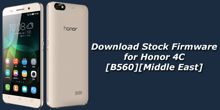 Download Stock Firmware for Honor 4C