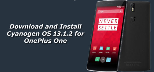 Download and Install Cyanogen OS 13.1.2 for OnePlus One