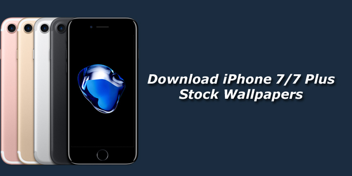 Download IPhone 7 Plus And Stock Wallpapers