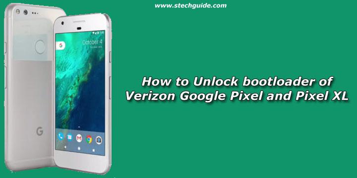 How to Unlock bootloader of Verizon Google Pixel and Pixel XL