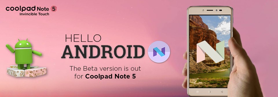 Update Coolpad Note 5 to Android Nougat Manually