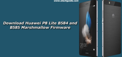 Download Huawei P8 Lite B584 and B585 Marshmallow Firmware