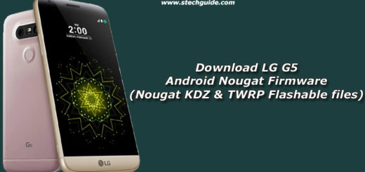 Download LG G5 Android Nougat Firmware