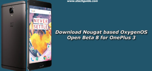Download OxygenOS Open Beta 8 for OnePlus 3 Nougat 7.0 Based