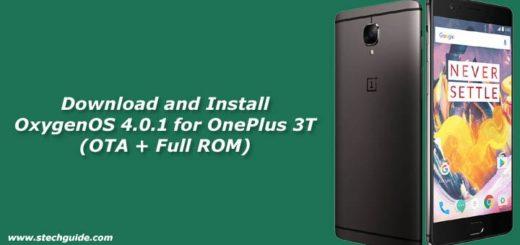OxygenOS 4.0.1 OTA Update for OnePlus 3T