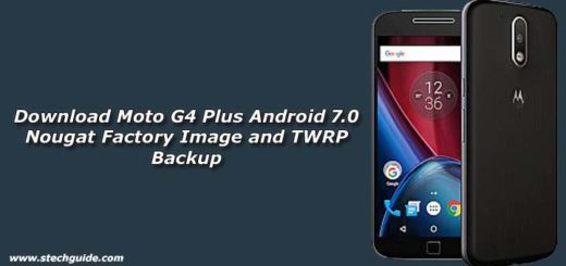 Download Moto G4 Plus Android 7.0 Nougat Factory Image and TWRP Backup